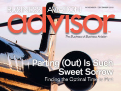 Business Aviation Advisor Magazine Nov-Dec 2019