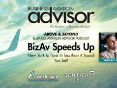 BizAv Speeds-Up Kenn Ricci