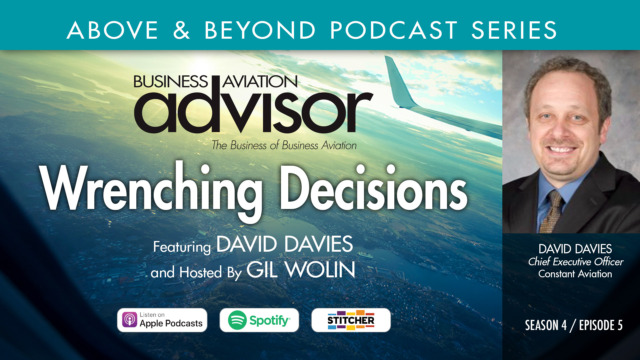 David Davies, CEO of Constant Aviation