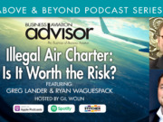 Illegal Air Charter – Is It Worth the Risk?
