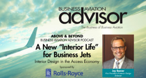 "A New ""Interior Life"" for Business Jets"