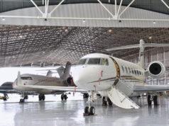 Jet Aviation Singapore Hangar