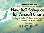 New DoT Safeguards for Aircraft Charter