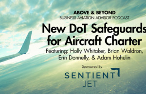 New DoT Safeguards for Aircraft Charter