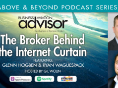 The Aircraft Broker Behind the Internet Curtain
