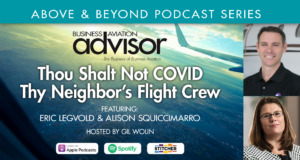 Thou Shalt Not COVID Thy Neighbor's Flight Crew