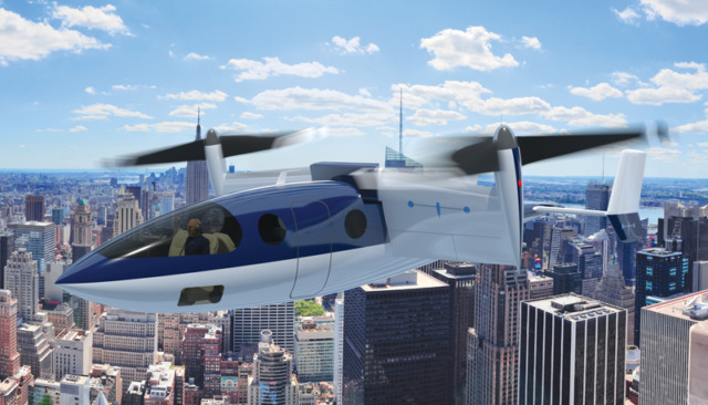 VTOL Offers an Alternative for Regional Travel
